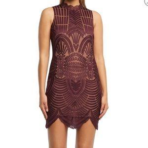 NWOT Bardot Alice lace dress